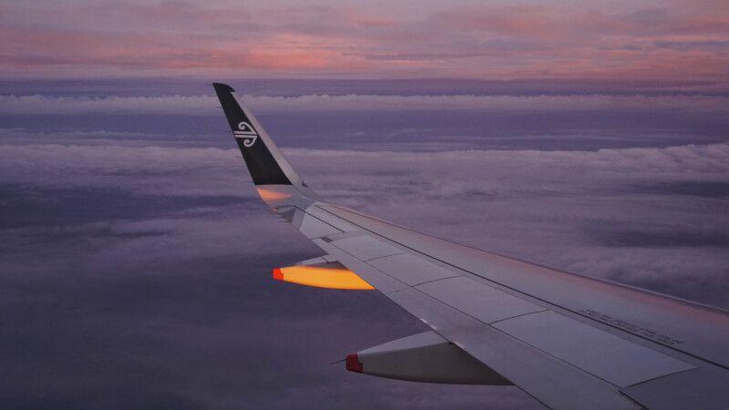 Anflug mit Air NZ auf Auckland © Diamir