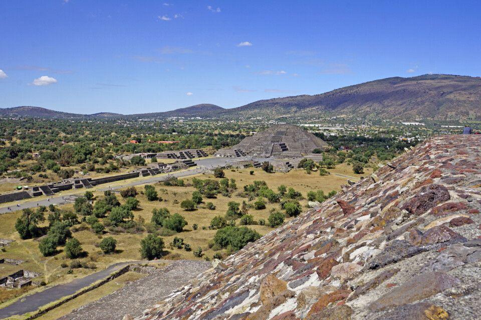 Die sagenumwobene Stadt von Teotihuacan