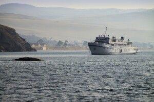 Ausflugsschiff auf dem Baikal