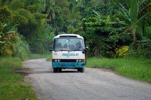 Public Transport und Schlaglöcher