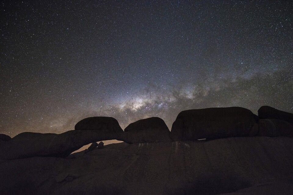 Sternenzelt in Erongo-Gebirge