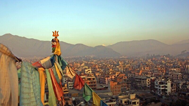 Blick über Kathmandu © Diamir