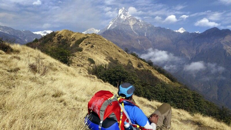 Rast auf dem Mardi Himal Trek © Diamir