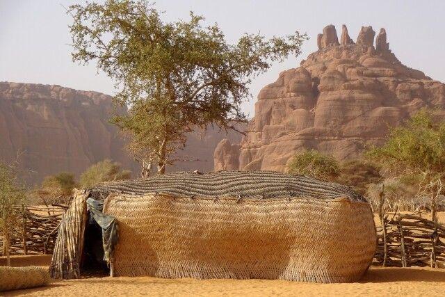 Nomadenhütte