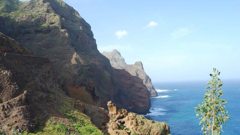 Berglandschaft der Insel Santo Antao © Diamir