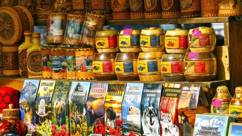Marktstand am Baikal © Diamir