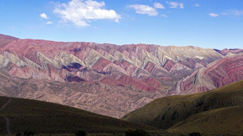 Der Berg der 20 Farben bei Humahuaca © Diamir