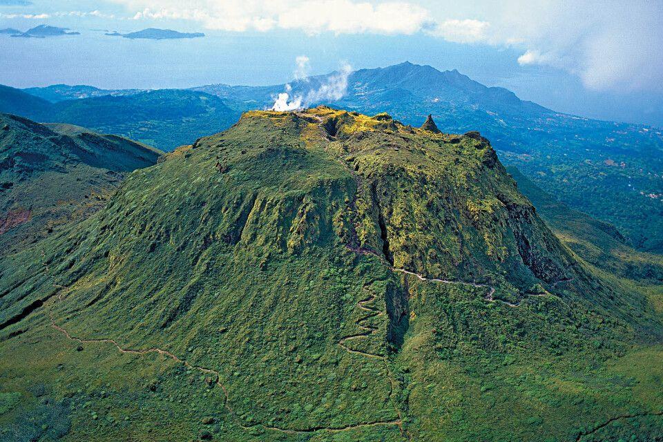 Guadeloupe Vulkan La Soufriere