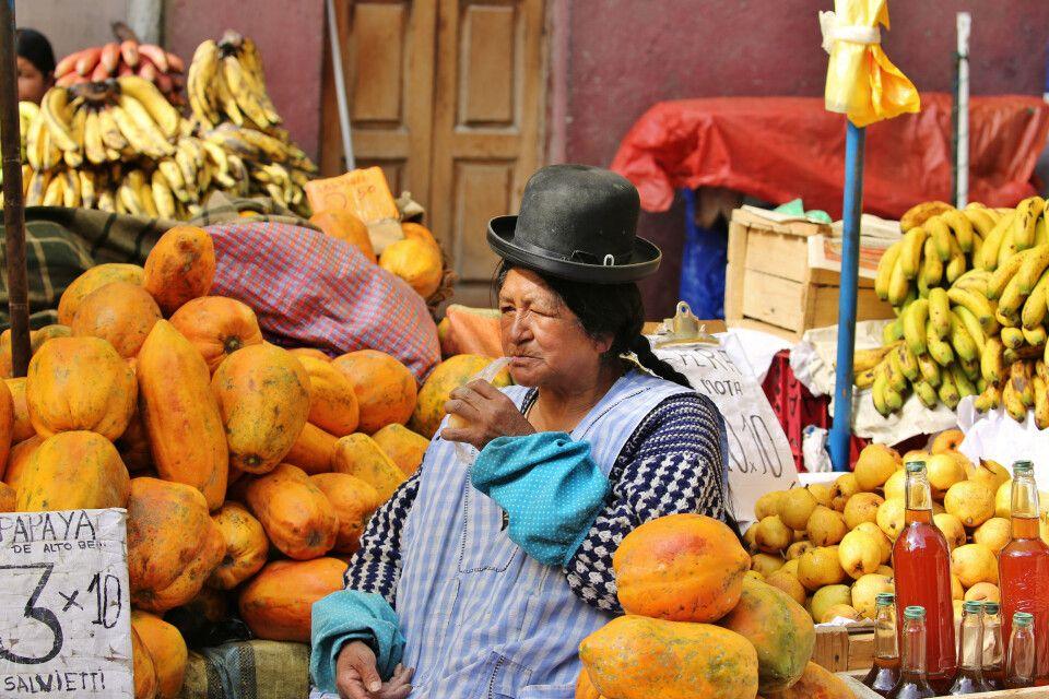Marktimpressionen in La Paz