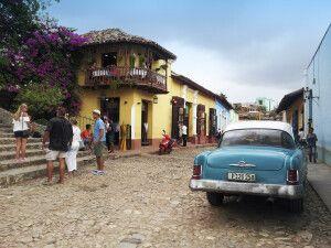 Straßenszene Trinidad