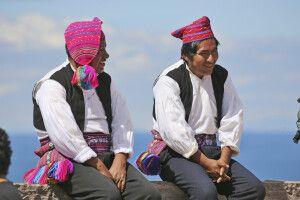 Isla Taquile, Insel der Strickenden Männer
