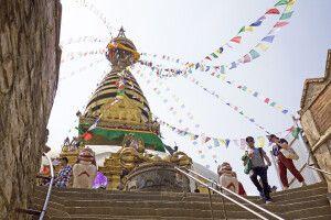 Tempelanlage Swayambunath