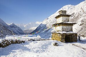 Weg von Samdo nach Dharamsala