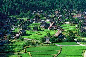 Shirakawago - ländliches Japan