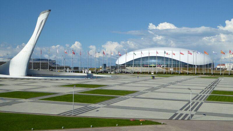 Olympiapark in Sotschi © Diamir