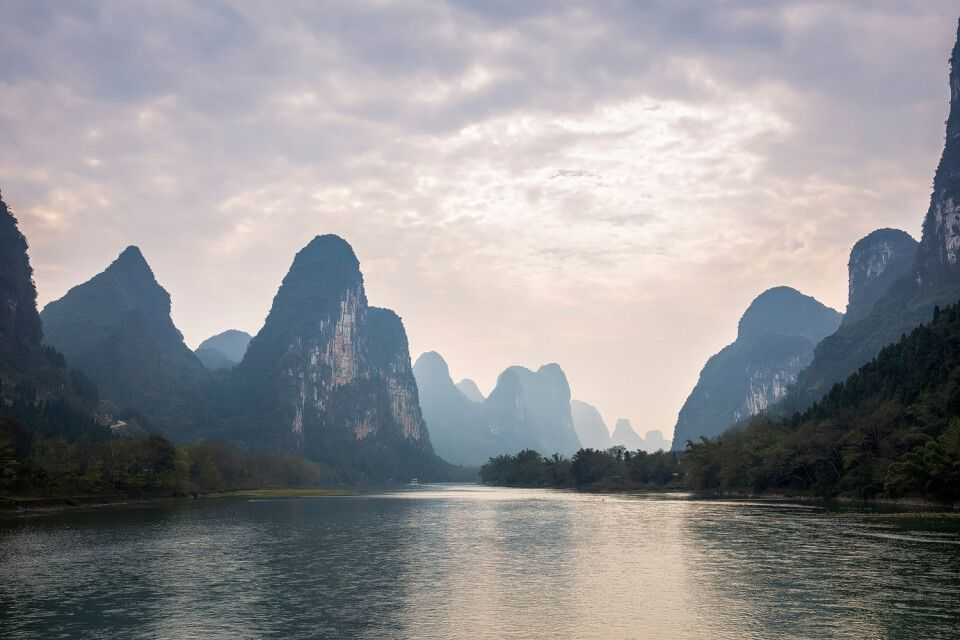 Herrliche Karstlandschaften in China