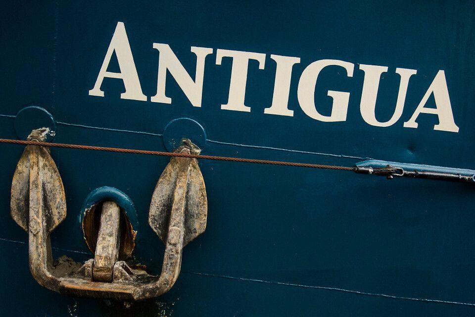 Historischer Segler Antigua