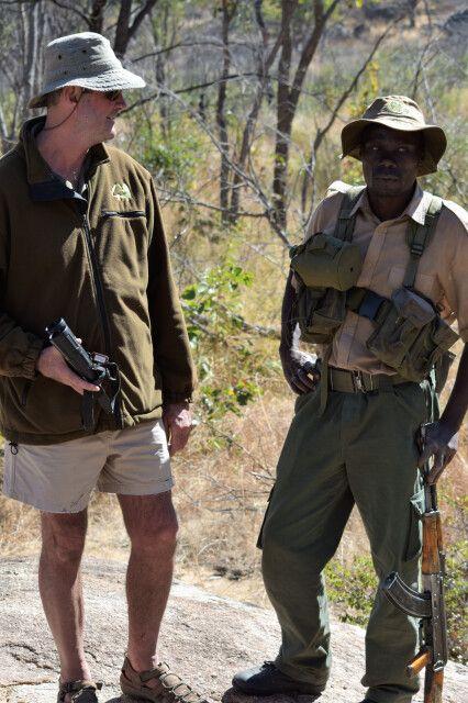 Fußpirsch mit dem Ranger