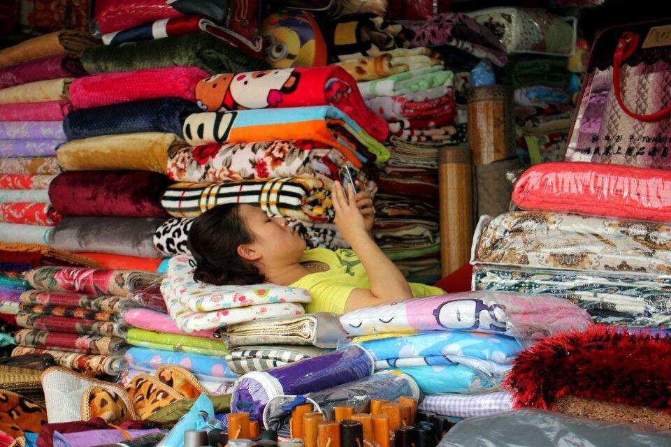 Stilleben auf einem Markt