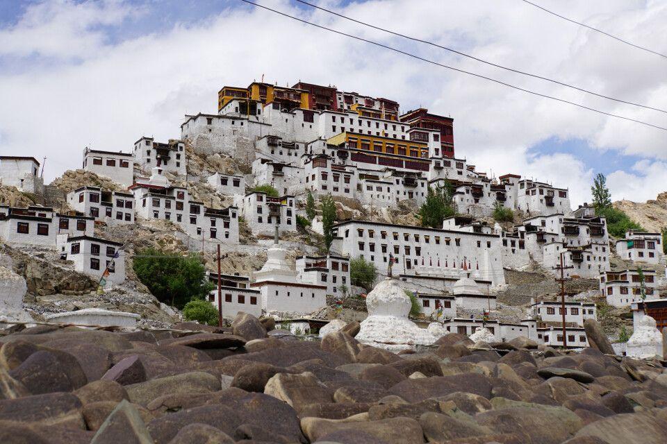 Die Klosteranlage in Thikse bei Leh