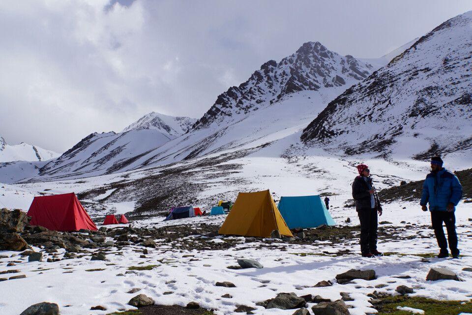 Basislager Stok Kangri (5000 m)