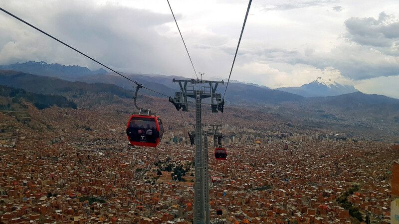Seilbahn in La Paz  © Diamir