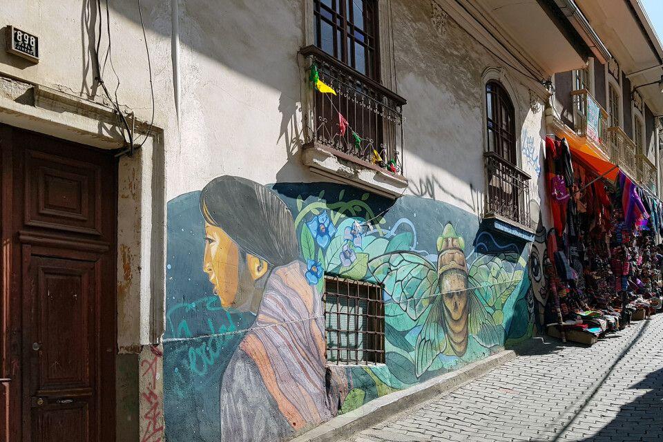 Unterwegs auf dem Markt in La Paz