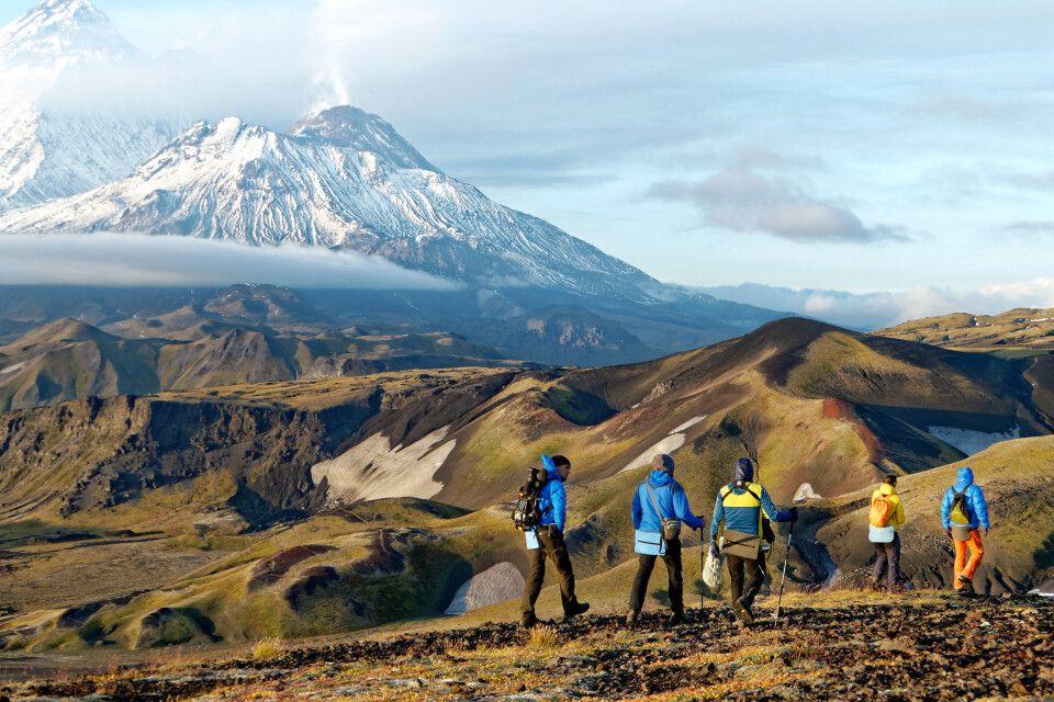Trekking im Nördlichen Vulkangebiet