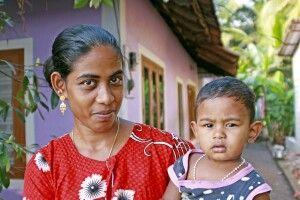 Mutter mit Kind aus Alleppey