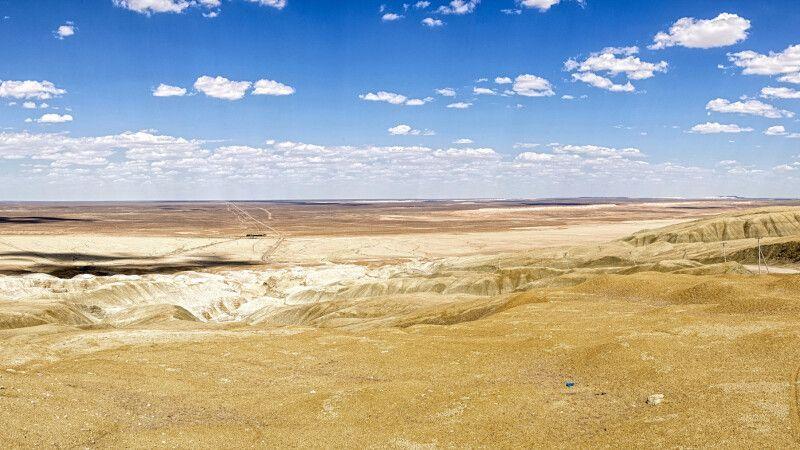 Weites Wüstenland Turkmenistan © Diamir