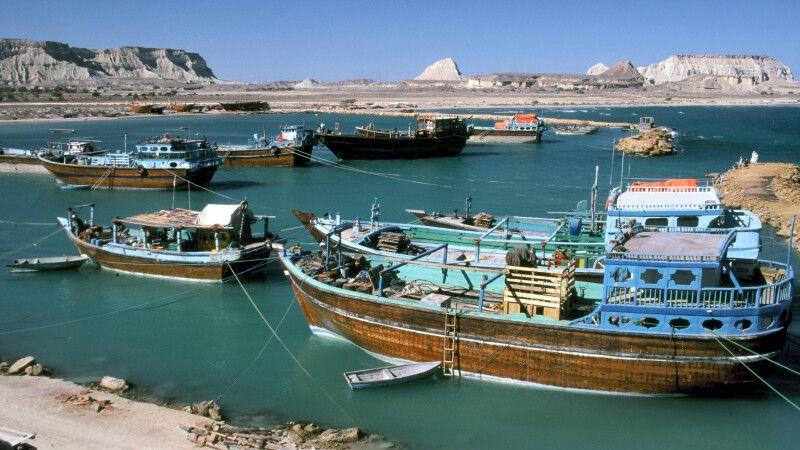 Hafen_von_Suza_auf_Qeshm © Diamir