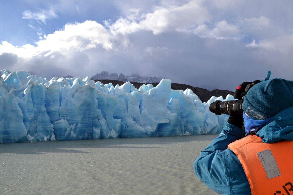 Grey-Gletscher im Torres-del-Paine-Nationalpark