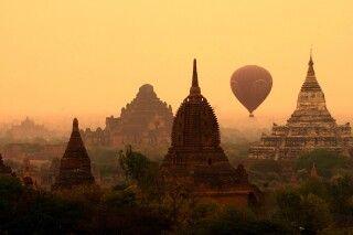 Ballonfahrt über Bagan