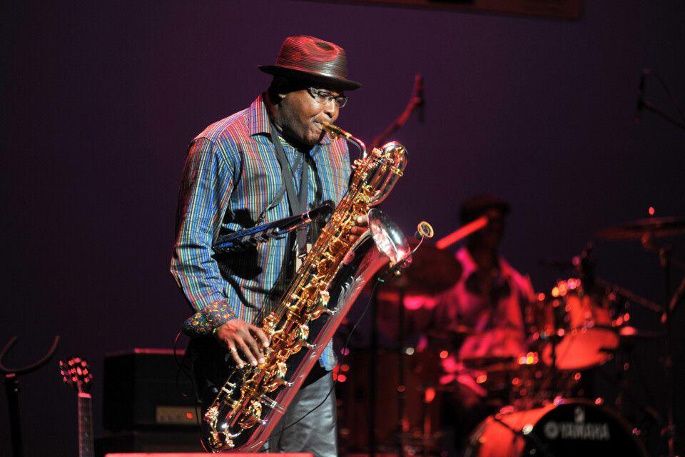 Saxofonist, International Blues Challenge, Memphis, Tennessee