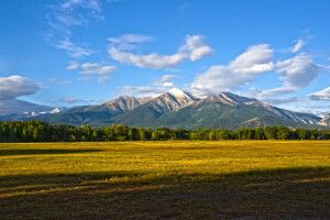 Mount Princeton, einer der 14.000er-Gipfel in den Collegiate Peaks, Colorado