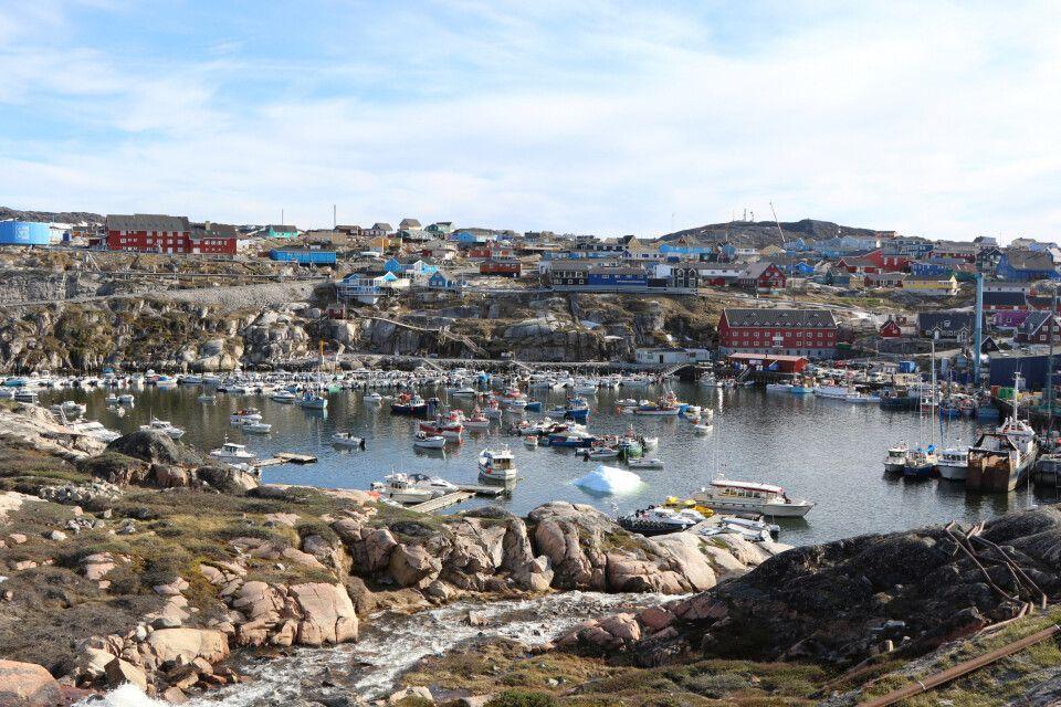 Blick auf Ilulissat