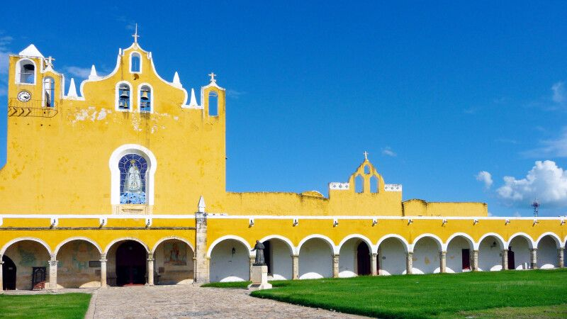 Kloster in Izamal © Diamir