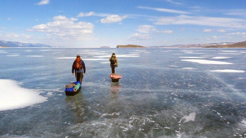 Eistrekking Baikalsee © Diamir