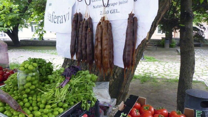 Marktstand in Signagi © Diamir