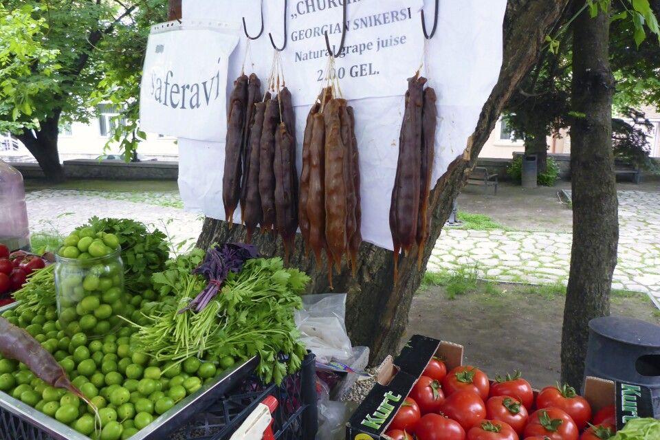 Marktstand in Signagi