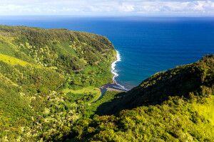 Kleine Bucht an der Straße nach Hana, Maui