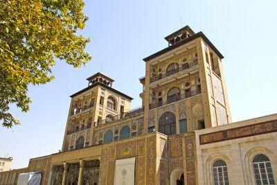 Golestanpalast - Regierungspalast der Kadscharen in Teheran