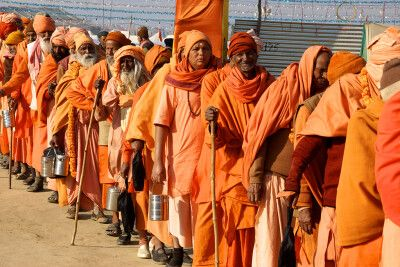 Indien - Kumbh Mela in Allahabad