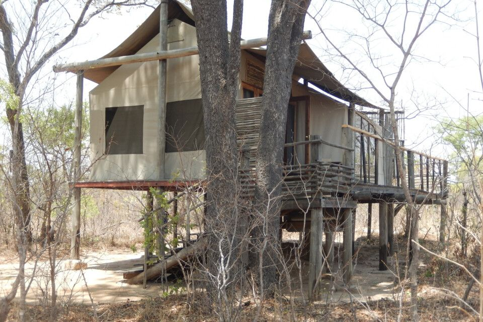 Tented Camp, Simbabwe