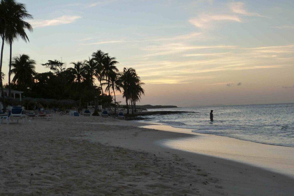 Abendstimmung am Strand von Guardalavaca