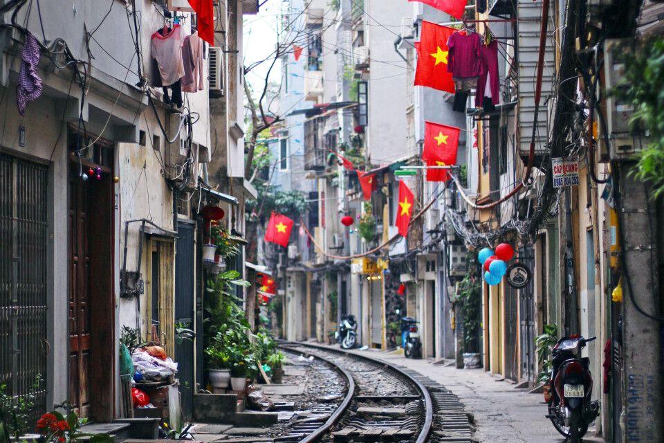 Hanoi – mit dem Zug durch Vietnam