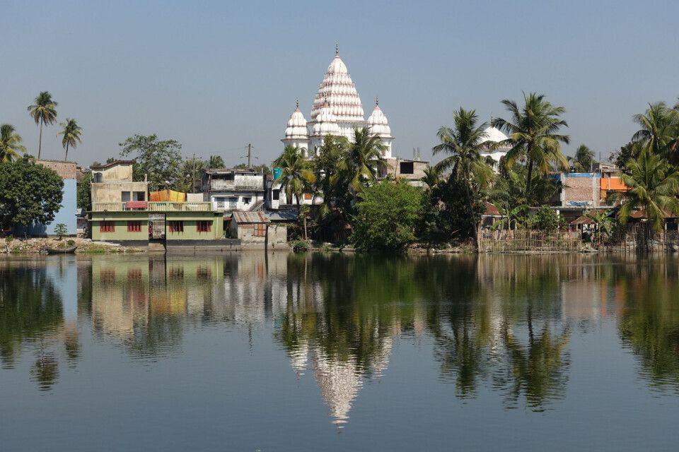 Der Shiva-Tempel in Puthia