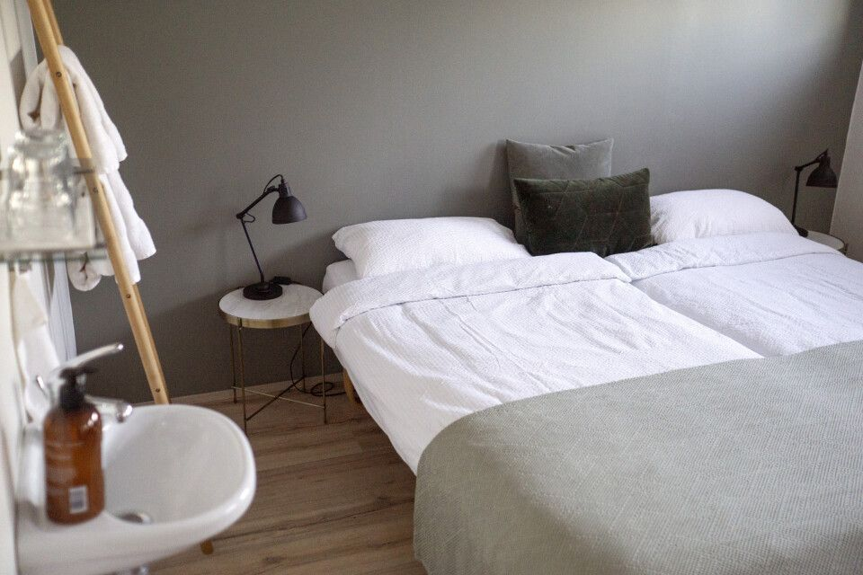 Einfache aber gemütliche Zimmer