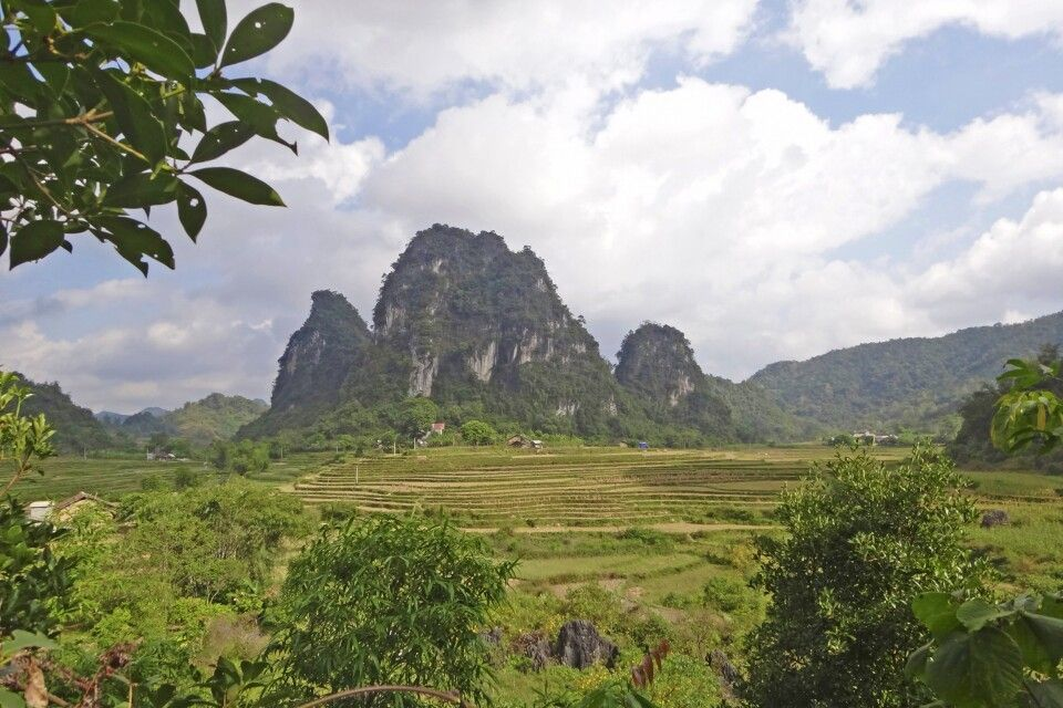 Auf dem Weg von Pac Khoang nach Na Nieng