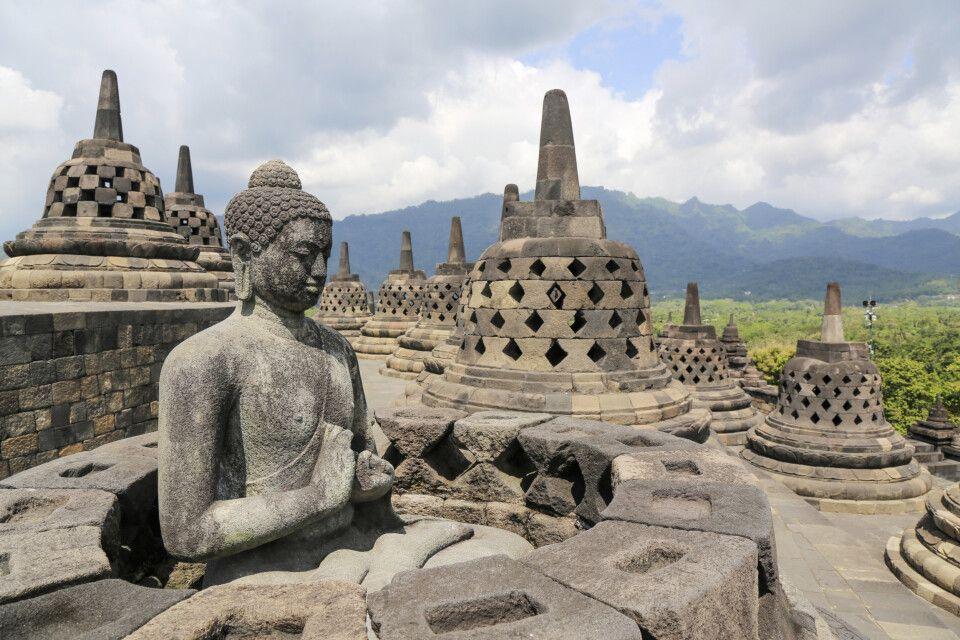 Auf dem Borobudur